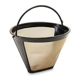 Univerzális kávéfőző szűrő, fém szitával Háztartási és