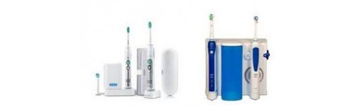 Elektomomos fogkefe / szájzuhany
