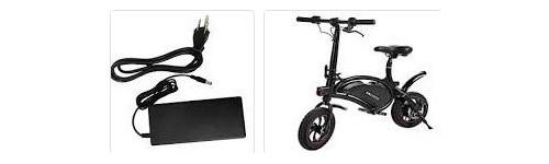 Elektromos kerékbpár, roller, Hooverboard töltők